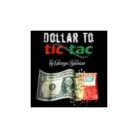 Dollar to Tic Tac by Twister Magic