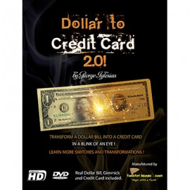 Dollar to Credit Card 2.0  by Twister Magic