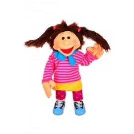 Marionnette ventriloque La petite Finja BM-W631