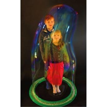 Socle à bulles geantes