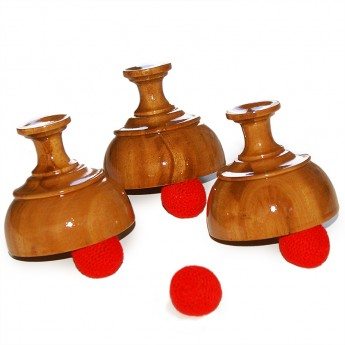 Cups & Balls - En bois - Indian style