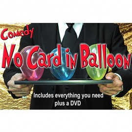 Comedy No Card in Balloon by Quique Marduk