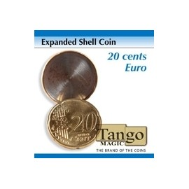 Expanded Shell  Coin 20 cents d' Euro TANGO