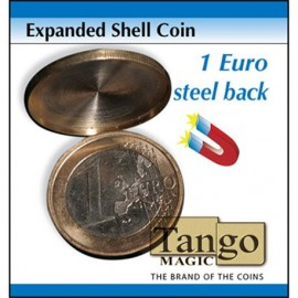 Expanded Shell Coin (1 Euro, Steel Back) TANGO/ Coquille De Pièce 1 Euro aimantable