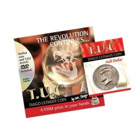 Tango Ultimate Coin T.U.C Half dollar avec DVD TANGO
