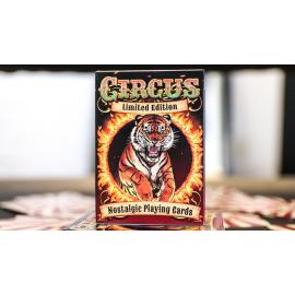 Jeu de cartes Nostalgic Circus( edition limitée)