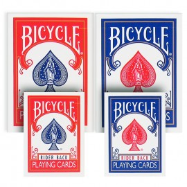 Mini Bicycle Cards Blue