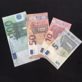 BILLET FLASH 10 EUROS/ BURNING MONEY 10 EUROS