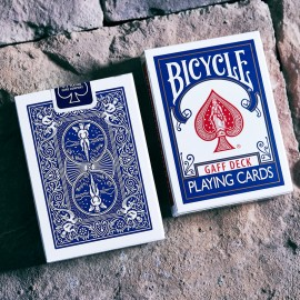 Bicycle Glory Gaff Deck  BLEU