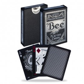 Jeu de cartes Bee Silver Stinger