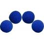4 Balles mousse Super Soft BLUE  Magic by Gosh (2 inch)