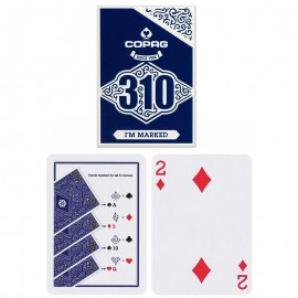 Jeu de cartesCopag 310 Playing Cards - Slim Line -Marqué