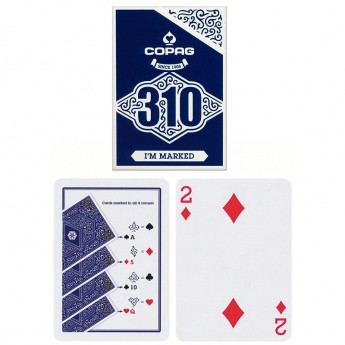 Jeu de cartesCopag 310 Playing Cards - Slim Line -Marqué