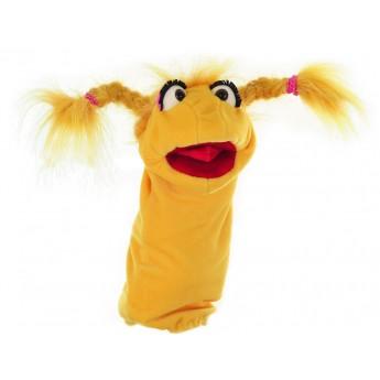 Marionnette Mademoiselle moulin à paroles W252