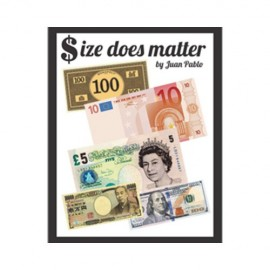 SIZE DOES MATTER  BY JUAN PABLO ( Monopoli/Vrais billet)