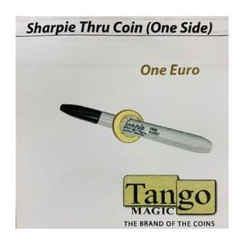 SHARPIE THRU COIN (One Side) SHARPIE A TRAVERS LA PIECE - EURO