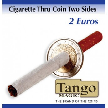 CIGARRETTE THRU 2 EUROS (Two sides) TANGO