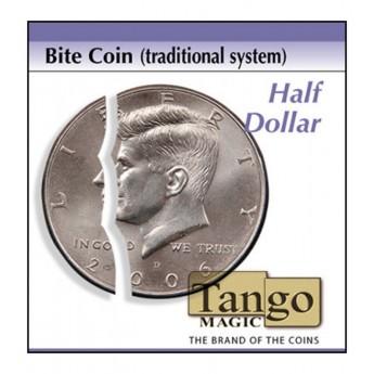 Piece mordu/Bite Coin (Traditional system) Half Dollar TANGO