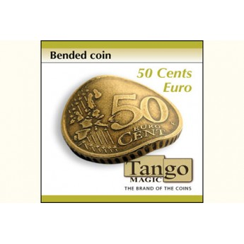 Bended Coin 50 cents Euro TANGO