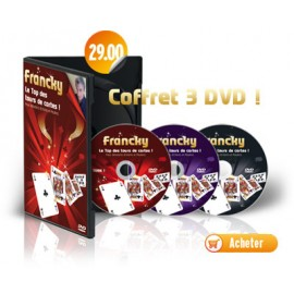 DVD Francky Le Top Tours des Cartes (Coffret 3 DVD)