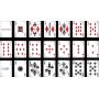 Jeu de cartes Chrome Kings Carbon (Standard)