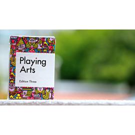 Jeu de cartes Playing Arts Edition Three