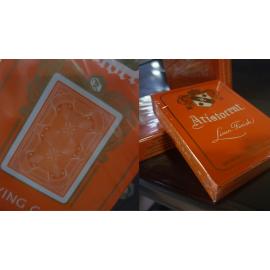 Jeu de cartes Aristocrat Orange