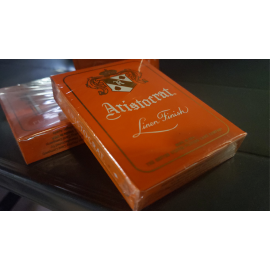 Jeu de cartes Aristocrat Orange