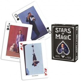 CARTES STARS OF MAGIC DECK NOIR
