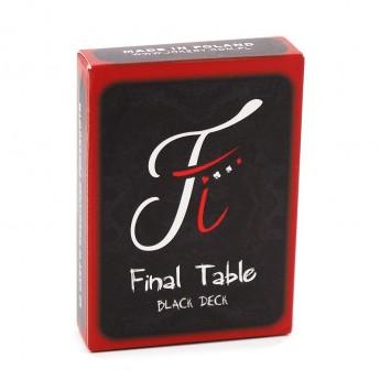 Jeu de cartes Final Table Black Deck