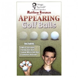 Apparition de balles de Golf by Goshman and Matthew Reesman