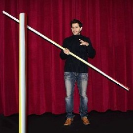 Apparition de paille géante - Appearing pole - Straw