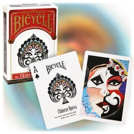 JEU DE CARTES BICYCLE CHINESE OPERA