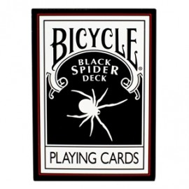 JEU DE CARTES BICYCLE - BLACK SPIDER DESK