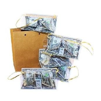 5 boites à billets d'un sac vide (Bill Boxes From Empty Bag)