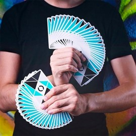 Jeu de cartes Cardistry  - Turquoise