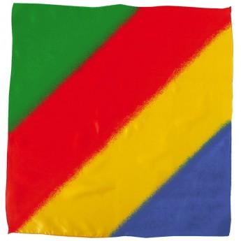 Sitta Multicolor Silk - 90 cm/Foulard multicolors