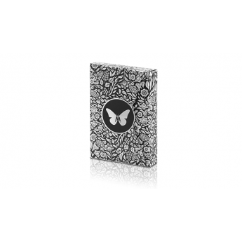 Butterfly Playing Cards Black - Gold (marquée)