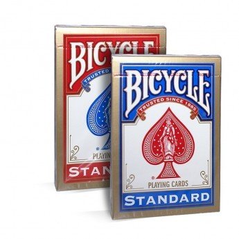 CARTES BICYCLE STANDARD ROUGE