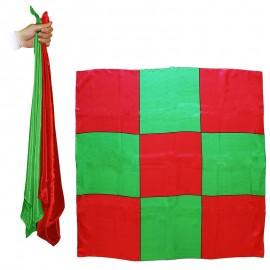Sitta Chessboard Blendo Rouge/Verte 90 cm
