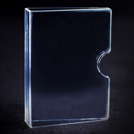 ETUI PROTECTEUR CARTES (transparent)/INVISIBLE CARD GUARD