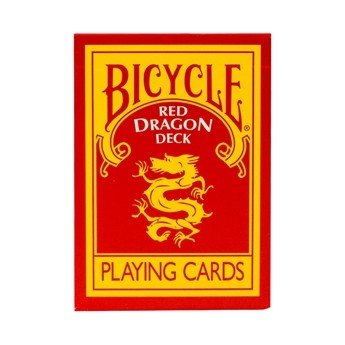 RED DRAGON - JEU DE CARTES BICYCLE