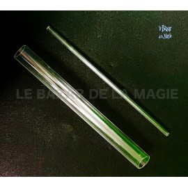 Jeu de 2 tubes en plexiglas (10, 40 mm)