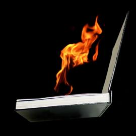 LIVRE EN FEU / FIRE BOOK