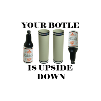 Bottle is Upside Down! By Tora Magic