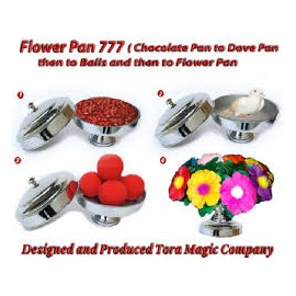 Flower Pan 777 ( 4 in 1 ) Tora magic