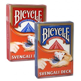 Jeu radio Bicycle / Svengali deck ROUGE