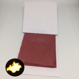Carnet Papier Flash ROUGE (PANDA MAGIC)