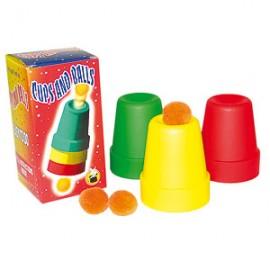 CUPS & BALLS / GOBELETS MAGIQUES